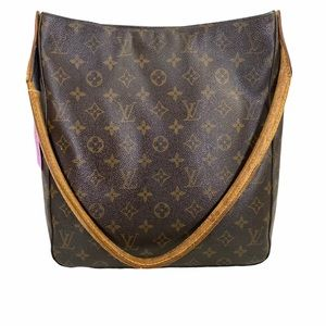 Louis Vuitton Shoulder bag Monogram leather Brown